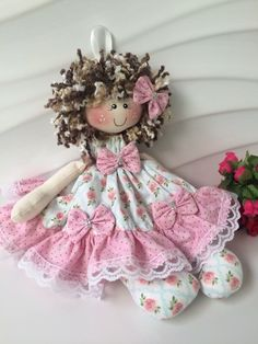 Diy Doll, Art Dolls, Doll Clothes, Sculptures, Christmas Ornaments, Holiday Decor, Creative, Handmade, Crafts