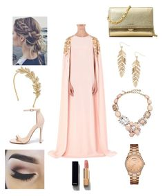 """Cinderella party!!"" by sunshine-vang-1 on Polyvore featuring Oscar de la Renta, Jennifer Behr, Michael Kors, Liliana, Humble Chic, GUESS, Chanel, pretty, beautiful and Elegant"