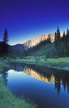 Mountain creek in Kootenays, British Columbia, Canada; photo by Carson Ganci