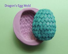 Unique Dragon Egg Soap Mold 2nd picture shows soaps made with the mold. Per an awesome customer, soap holds 2 ounces of soap or wax. :) As noted below only the mold is for sale ¸.•´ ¤♥´¨ Please Read ~
