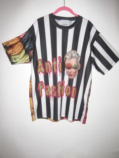"""Image of oversize """"Anti- fashion tee"""" by Your mom lies"""
