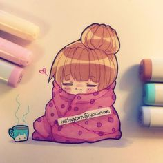 Anime Drawing Ideas Kawaii Klub - mood (()) I have that cup irl hehehehe i drew on a japanese brand… Art Kawaii, Kawaii Chibi, Anime Chibi, Kawaii Anime, Anime Art, Kawaii Drawings, Cute Drawings, Chibi Girl Drawings, Pretty Art