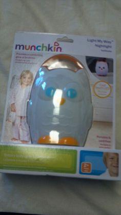 Owl light for owl nursery :)