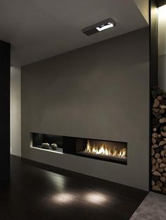 #interior #design #modern #contemporary #style #fireplaces #home decor - Art et Pierre metal UNIQUE