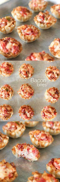 Tomato Bacon Bites