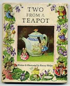 """Racey Helps - Two from a Teapot: I love it that """"Ava's Secret Tea Party"""" joins a long, line of books about tea parties."""
