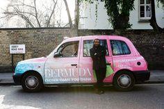 Bermude Taxi Advertising with Reggae legend Maxi Priest.