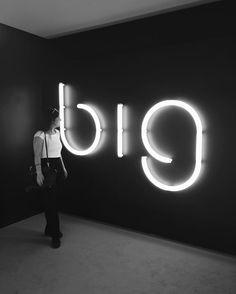 Via francescadalo on Instagram Think big #Artemide #lighting #milan #space #designweek #design #fuorisalone #blackandwhite
