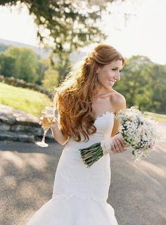 #hairstyles  Flowers: Steven Bruce Design - stevenbrucedesign.com Photography: Charlotte Jenks Lewis Photography - charlottejenkslewis.com  Read More: http://www.stylemepretty.com/2012/03/05/garrison-wedding-by-charlotte-jenks-lewis-photography/