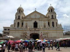 Black Nazarine Cathedral,  Manila,  Philippines.