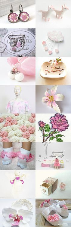 A splash of pink by Renata on Etsy--Pinned with TreasuryPin.com