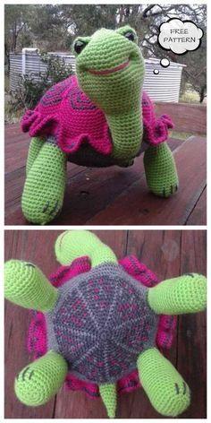 Crochet Animal Amigurumi, Crochet Amigurumi Free Patterns, Crochet Animal Patterns, Crochet Bunny, Stuffed Animal Patterns, Cute Crochet, Crochet Dolls, Kids Crochet, Crochet Animals