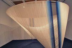 Fibre futures exhibition, Japanese contemporary textiles