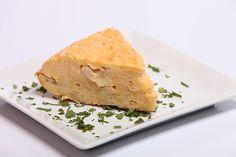 Nuestra tapa de tortilla española