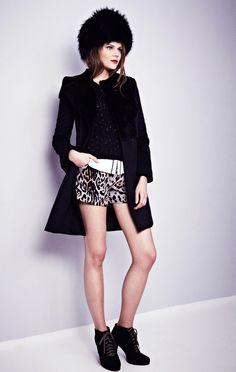 Winter Classic Fur & Leopard Mix I Leopard Print #Fashion #Trend forFall Winter 2013  Misha Nonoo#Fall2013 #trendy #leopard #print
