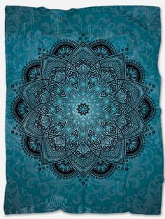 Provide warmth and comfort with this Mandala Throw Blanket. With its incredible design and vibrant colors, it will make your home even more beautiful. Not only that but it will make you feel extreme coziness with its soft and warm fabric. It is a perfect gift for someone you want to make happy and at the same time feel comfortable. It is handmade just for you and has a unique design that can't be found anywhere else. Polar Fleece Blankets, Mandala Throw, Make Happy, Boho Chic, Vibrant Colors, The Incredibles, Tapestry, Warm, Make It Yourself