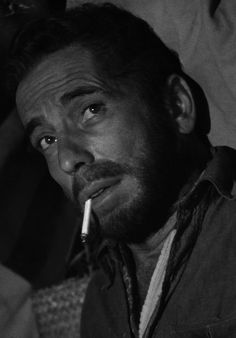 "Humphrey Bogart in ""The Treasure Of The Sierra Madre"""