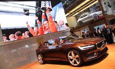El stand de Volvo en el Salón de Ginebra, repleto de novedades | QuintaMarcha.com Volvo ha acudido a Ginebra con varias y destacadas primicias. La más importante, el Estate Concept, que adelanta la fisonomía de futuros 'wagon'. Además, ha presentado allí las series especiales Ocean Race y Edition.