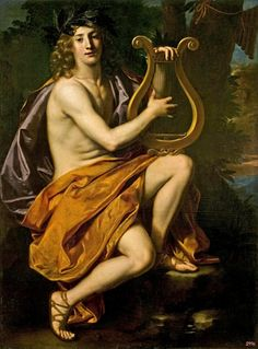 Nicolas Regnier. Flemish 1590-1667. - Apollo. 17th.century