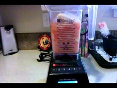 Blending up a Dr Smoothie in the kitchen #smoothies #drsmoothie