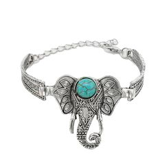 Damen Herren Silber überzogenes Open Ende Armreif Charm Armband Manschette x 1