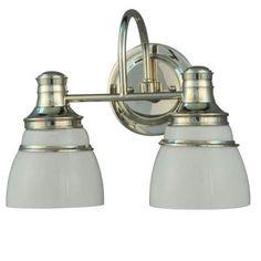 Martha Stewart Living 2-light Seal Harbor Collection Vanity Light Fixture $80