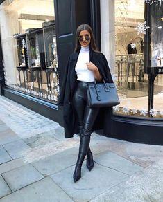 """✨Fashion # & # Lifestyle✨ # """"Alice-Olivia # ❤ ¸ … – Closet Winter Fashion Outfits, Fall Outfits, Autumn Fashion Classy, Fashion Dresses, Classy Outfits, Stylish Outfits, Classy Going Out Outfits, Urban Chic Outfits, Elegantes Outfit Frau"""
