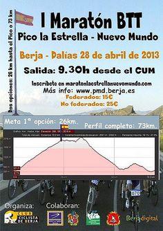 Cartel I Maratón Berja-Dalías. Proyecto rumor Alpujarra Almería. Turismo rural.