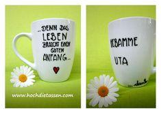 Tasse für deine Hebamme  von hochdietassen auf DaWanda.com
