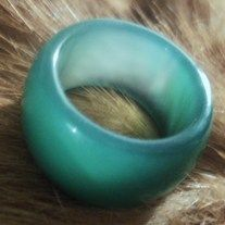 Beautiful+new+genuine+jade,+dreamy+green,+SZ+9