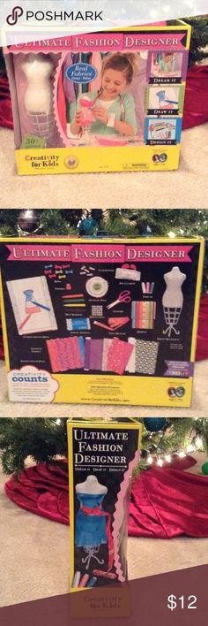 ✨Creativity for KidsUltimate Fashion Designer ✨A little fashion designer at home?✨Give the gift of creativity that she will love✨✨NWOT✨ Accessories