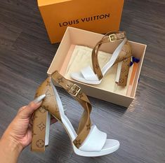 shoes, heels, and Louis Vuitton image Louis Vuitton Shoes, Heeled Boots, Shoe Boots, Shoes Sandals, Lv Heels, Dream Shoes, Crazy Shoes, Cute Shoes, Girls Shoes