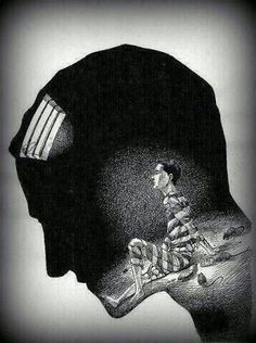 Trapped in my mind - we all must break free.
