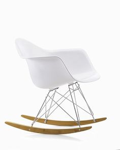 Vitra Eames RAR Rocking Chair Chair By Charles U0026 Ray Eames. The Eames RAR  Plastic Rocking Chair Was First Presented As Part Of The Famed New York  Museum Of ...