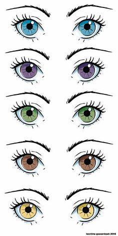 Beautifully detailed eyes.olhos para bonecas de pano