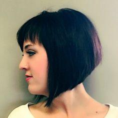 #shorthair #hair #haircut #brunette #bob #angles #style #shorthaircut #modernsalon #americansalon #btcpics #saloncoccole