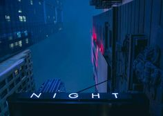 night, blue, and neon image Neon Noir, Night In The Wood, Neon Nights, Blue Aesthetic, Simple Aesthetic, Aesthetic Photo, Gotham City, Neon Lighting, City Lights
