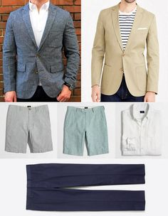 USA Made Boots $55 Summer Sportcoats & More  The Thurs. Sales Handful  Sales that deserve some attention heading into the weekendora bit earlier. Might not be some massive once a year event but still worth a look. Those are what make up these handfuls. Five of the better sales one for each finger are below plus bonus sales if need be. Included are a few picks worth pointing out.    J. Crew Factory  Gilt City: Extra 35% off w/ Voucher  Linen/Cotton Sportcoat  $69.22  Unconstructed Flex Chino…