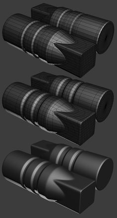 FAQ: How u model dem shapes? Hands-on mini-tuts for mechanical sub-d AKA ADD MORE GEO - Page 166 - Polycount Forum