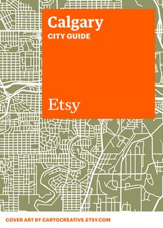 Discover unique items from Etsy designers in a boutique near you — plus inspiring cafes, bars, and more — with this handy guide. #etsy #cityguide #calgary