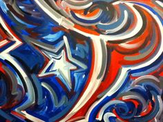 Houston Texans Painting by Justin Patten Sports