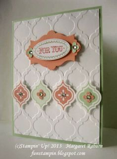 Mosaic Madness, Just for you! SUO by mraburn - Cards and Paper Crafts at Splitcoaststampers