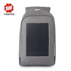 89b33a75b5 Buy now 2017 Tigernu Brand Backpack 10W Solar Powered Backpack Usb Charging  Anti-Theft 15.6