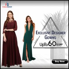 Best offers on exclusive designer gowns for women online at fingoshop. #womenfashion #gowns #designergowns #womenswear #offers #onlineshopping #onlineshoppingindia #thursdayshopping Party Wear For Women, Women Wear, Stylish Gown, Traditional Gowns, Ethnic Gown, Bridesmaid Dresses, Wedding Dresses, Designer Gowns, Formal Dresses
