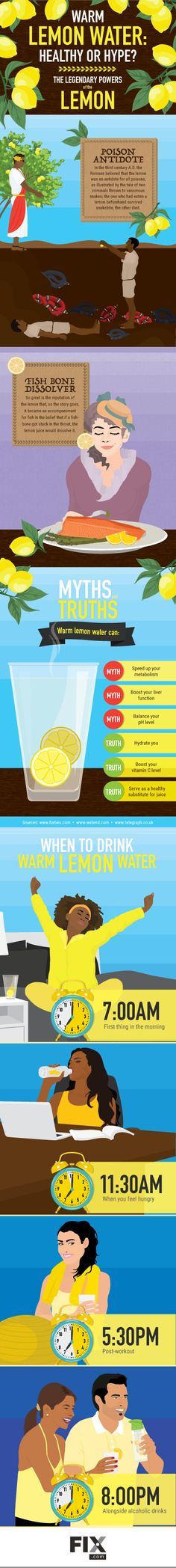 A glass of warm lemon water is a great way to start the day with some hydration,… - Health Cleanse Drinking Warm Lemon Water, Lemon Water In The Morning, Lemon Water Benefits, Veggie Smoothies, Fruit Infused Water, Health Cleanse, Health Trends, Start The Day, Weight Loss Smoothies