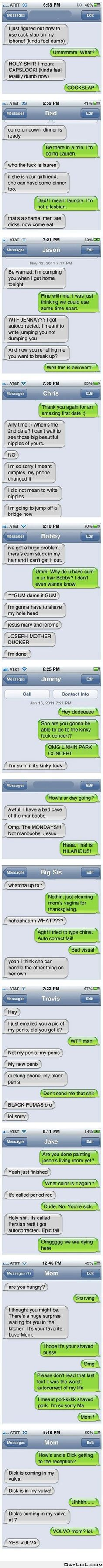 Funniest autocorrects ever www.bestfunnyjokes4u.com/