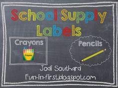 Fun in First Grade: Chalkboard Craze