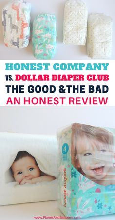 Honest Diapers Reviews together with comparison with Dollar Diaper Club. Learn from our experience and make an informed decision!