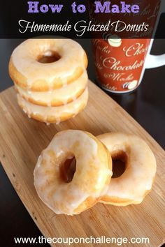 What's better than eating a donut for breakfast?  Making a warm and delicious donut at home. Read on to learn how to make homemade glazed donuts!