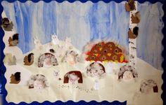 OpenIdeat: Eläinten talvi 4/6 Painting, Art, Art Background, Painting Art, Kunst, Paintings, Performing Arts, Painted Canvas, Drawings